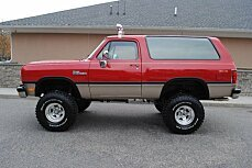 1993 Dodge Ramcharger for sale 100931435