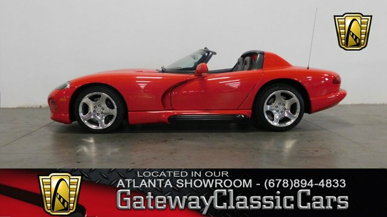 1993 Dodge Viper RT/10 Roadster for sale 100949239
