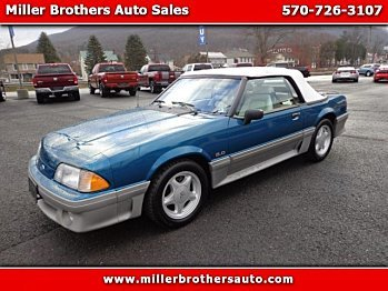 1993 Ford Mustang GT Convertible for sale 100923890