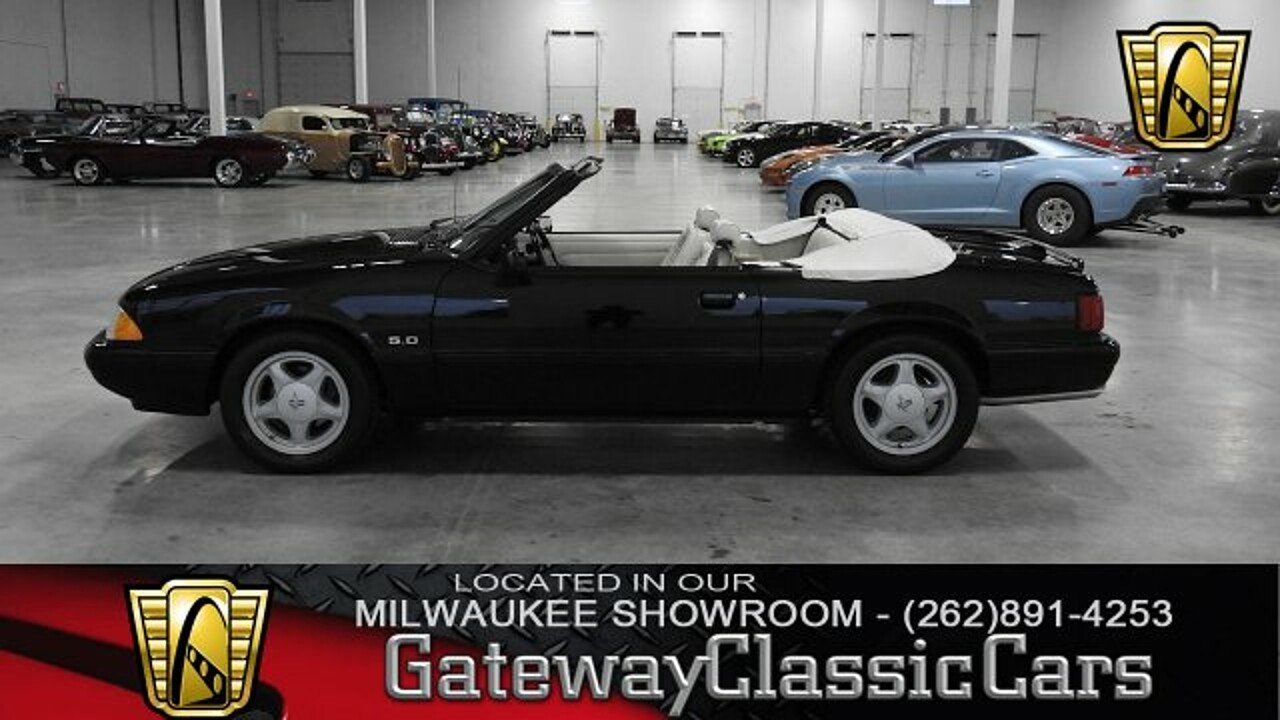 1993 Ford Mustang LX V8 Convertible for sale 100949366