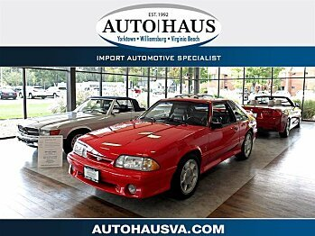 1993 Ford Mustang Cobra Hatchback for sale 101044694