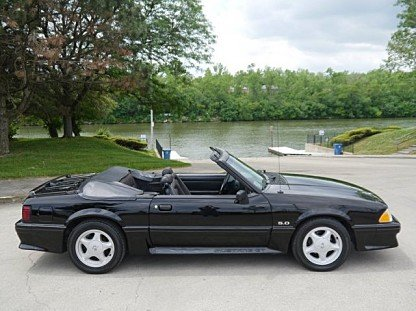 1993 Ford Mustang GT Convertible for sale 100956384