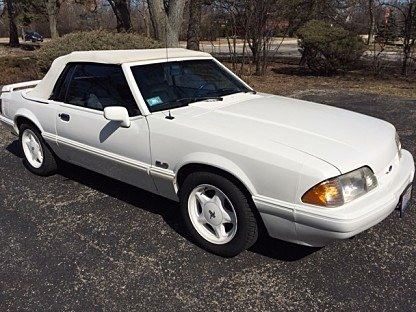 1993 Ford Mustang LX V8 Convertible for sale 100976676