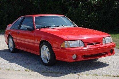 1993 Ford Mustang Cobra Hatchback for sale 101017203
