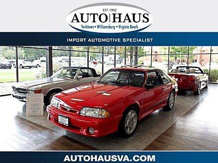 1993 Ford Mustang Cobra Hatchback for sale 101044694