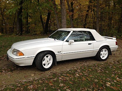1993 Ford Mustang LX V8 Convertible for sale 100972722