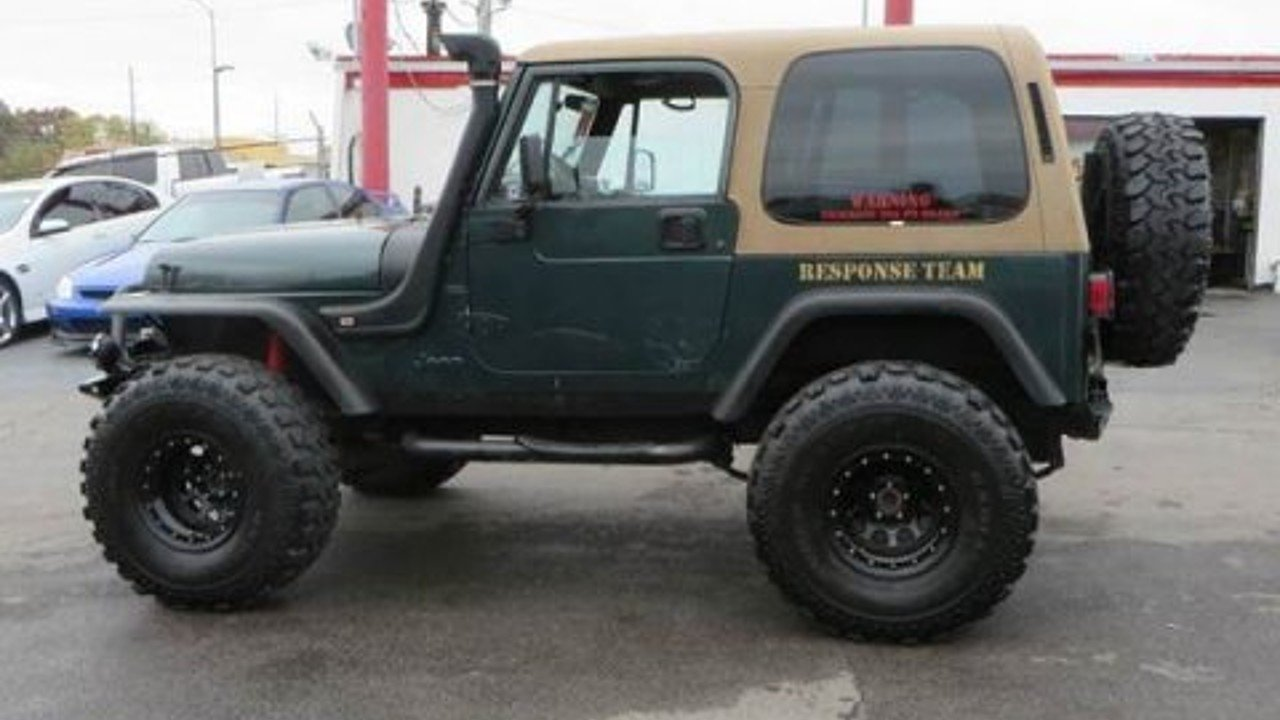 1994 Jeep Wrangler 4WD SE for sale 100816285