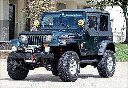 1994 Jeep Wrangler 4WD Sahara for sale 101025896