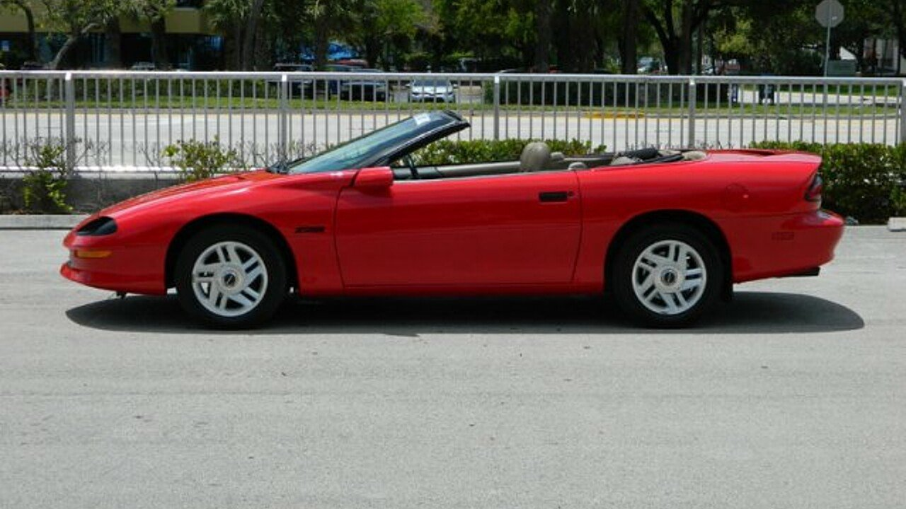 1995 chevrolet camaro z28 convertible for sale near fort. Black Bedroom Furniture Sets. Home Design Ideas