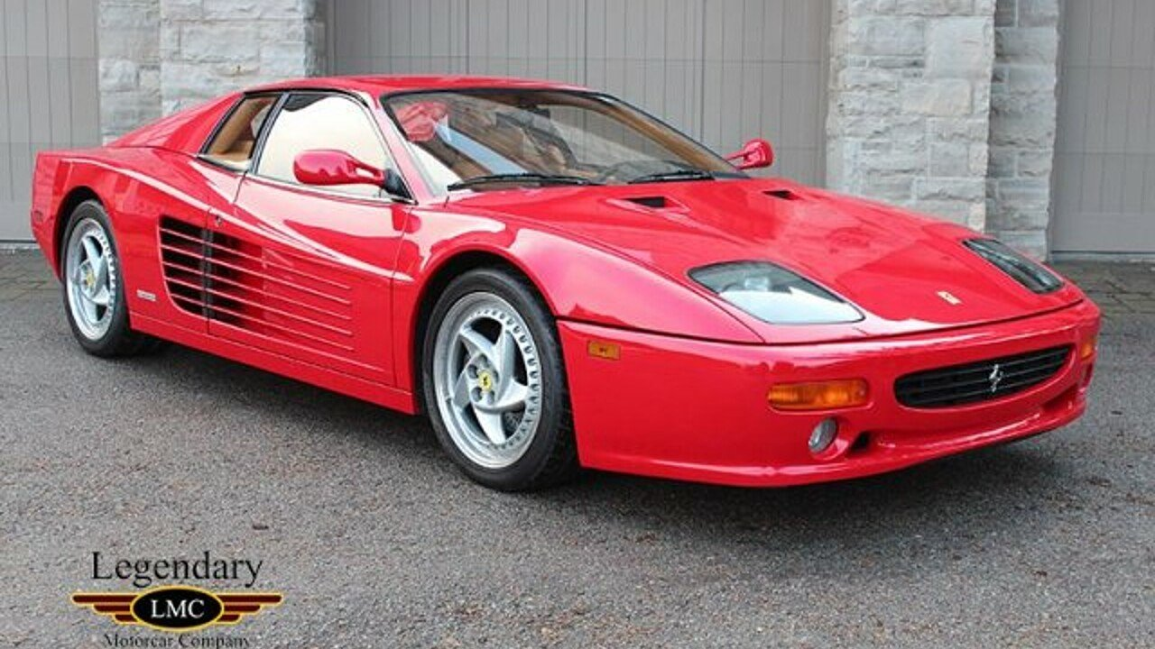 1995 ferrari 512m for sale near youngstown new york 14174 classics on autotrader. Black Bedroom Furniture Sets. Home Design Ideas