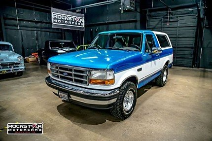 1995 Ford Bronco for sale 100884191