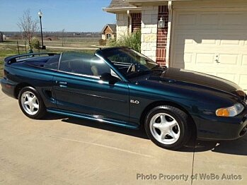 1995 Ford Mustang GT Convertible for sale 100722308