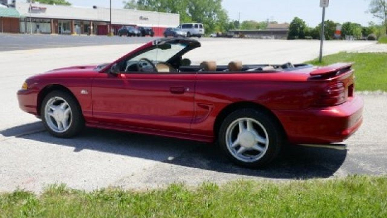 All Types 1995 mustang convertible : 1995 Ford Mustang GT Convertible for sale near Mundelein, Illinois ...