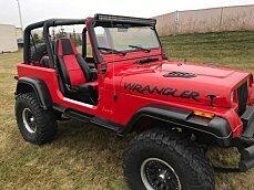1995 Jeep Wrangler 4WD SE for sale 100929080