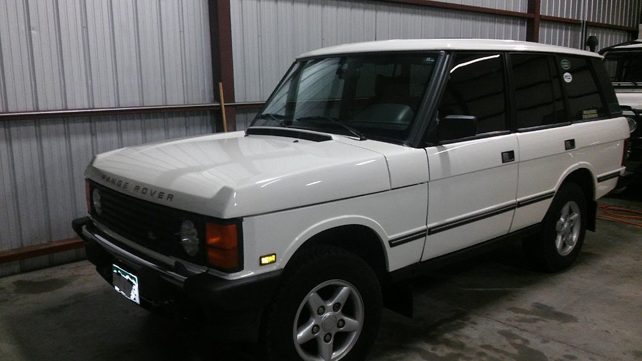 1995 land rover range rover classic for sale near colorado springs colorado 80919 classics on. Black Bedroom Furniture Sets. Home Design Ideas