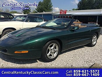 1995 Pontiac Firebird Convertible for sale 100982995