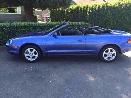 toyota celica classics for sale classics on autotrader. Black Bedroom Furniture Sets. Home Design Ideas