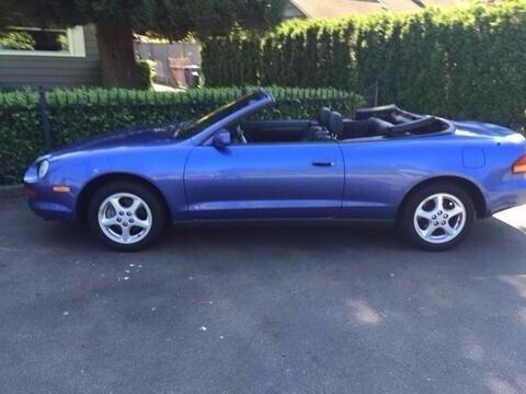 1995 Toyota Celica Gt Convertible For Sale Near Seattle  Washington 98125