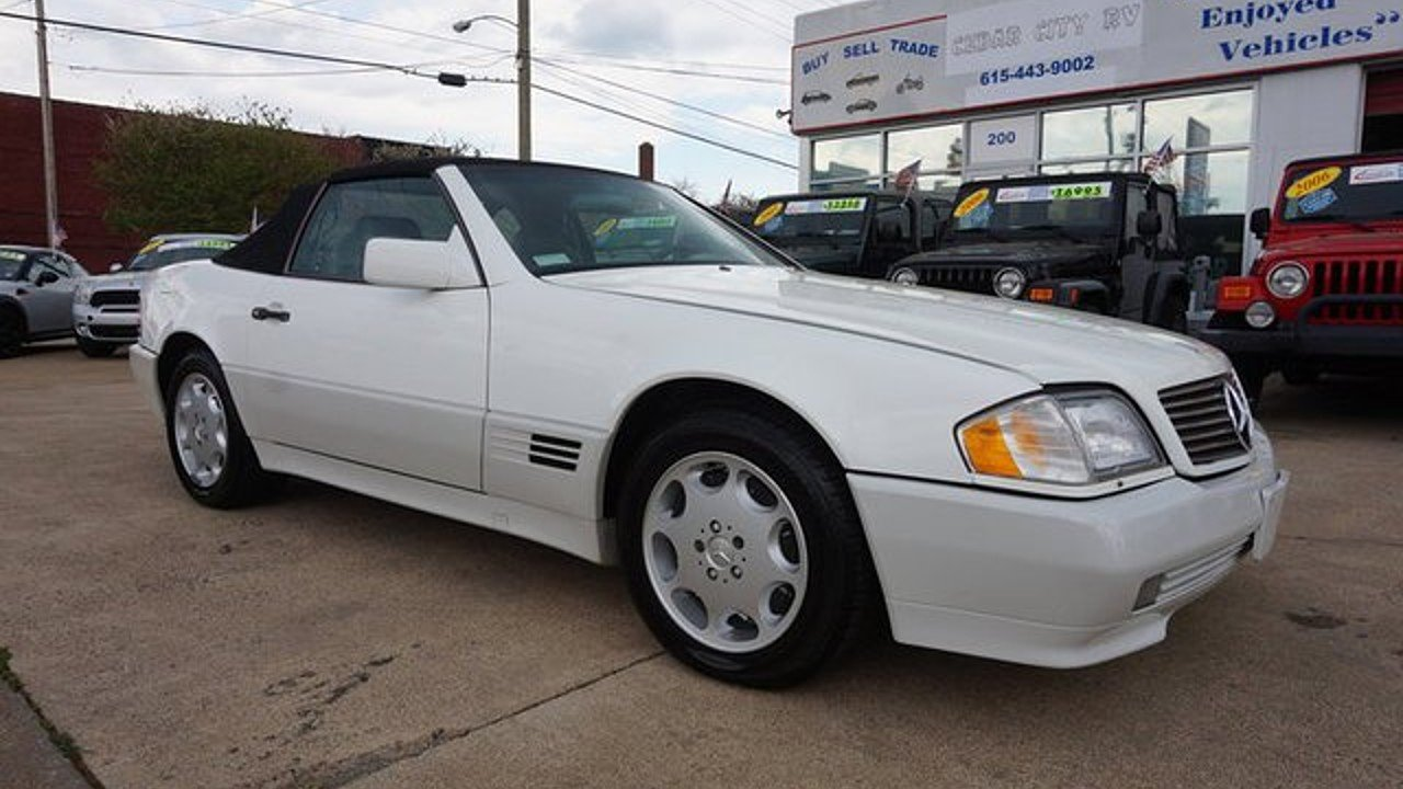 1995 mercedes benz sl500 for sale near lebanon tennessee 37087 classics on autotrader. Black Bedroom Furniture Sets. Home Design Ideas