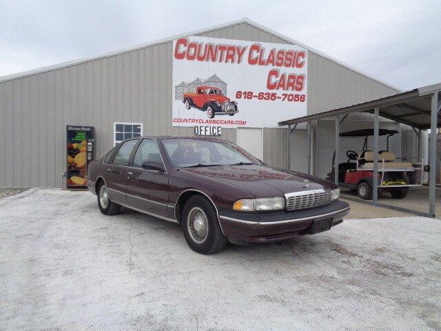 1996 chevrolet caprice classic sedan for sale near staunton rh classics autotrader com  1996 chevy caprice owners manual