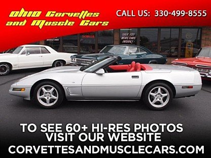 1996 Chevrolet Corvette Convertible for sale 100020753