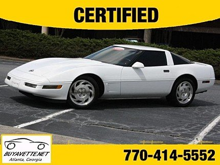 1996 Chevrolet Corvette Coupe for sale 100770824