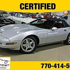 1996 Chevrolet Corvette Convertible for sale 100844857