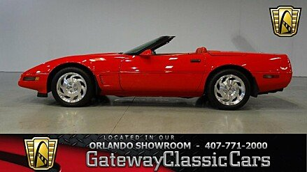 1996 Chevrolet Corvette Convertible for sale 100941996