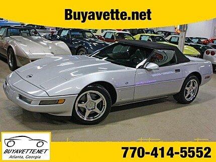1996 Chevrolet Corvette Convertible for sale 100950954
