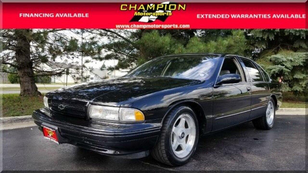 1996 Chevrolet Impala SS for sale near Crestwood, Illinois 60445 ...