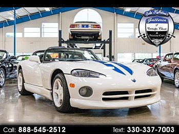 1996 Dodge Viper RT/10 Roadster for sale 101028841