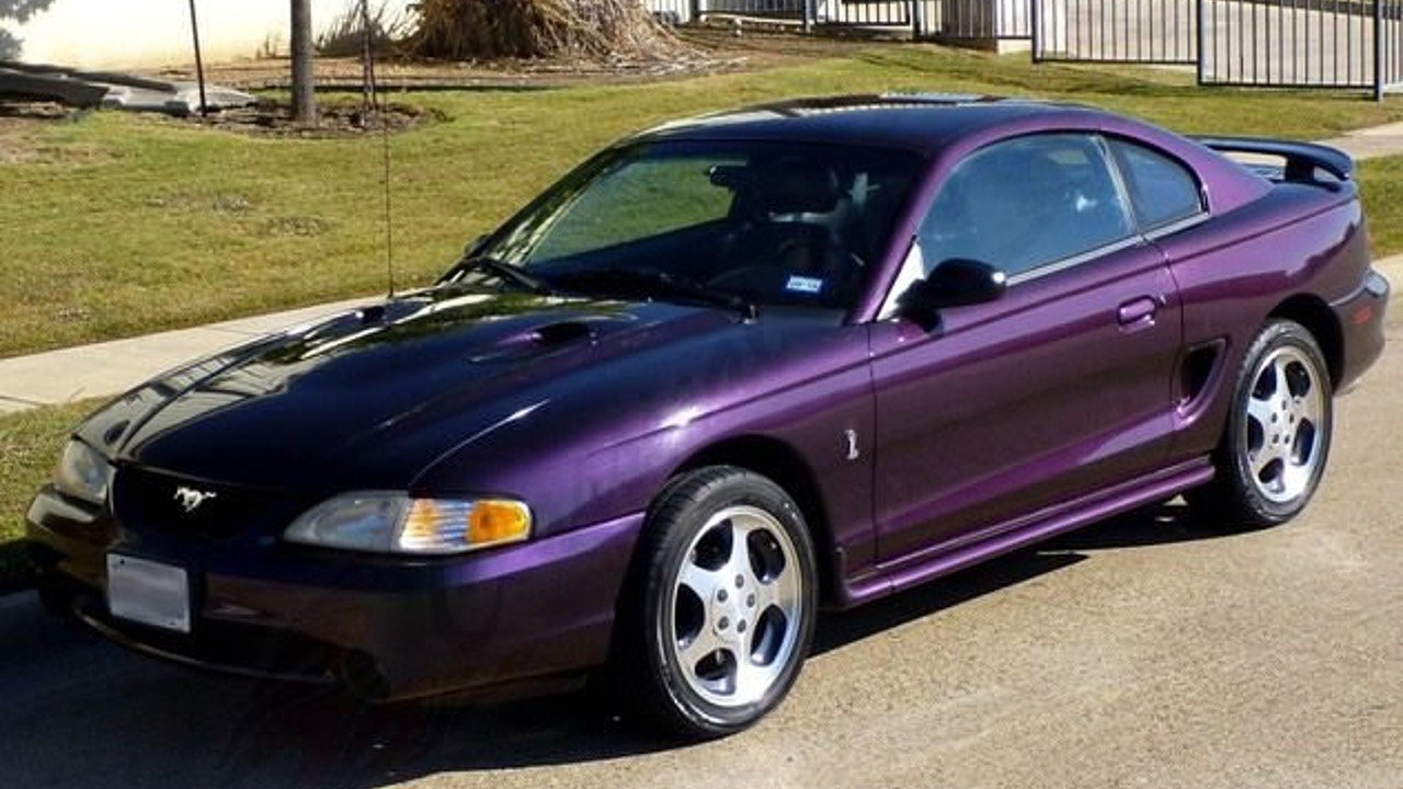 1996 Ford Mustang Cobra Coupe for sale near Arlington, Texas 76001 ...