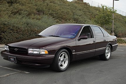 1996 chevrolet Impala SS for sale 101021439