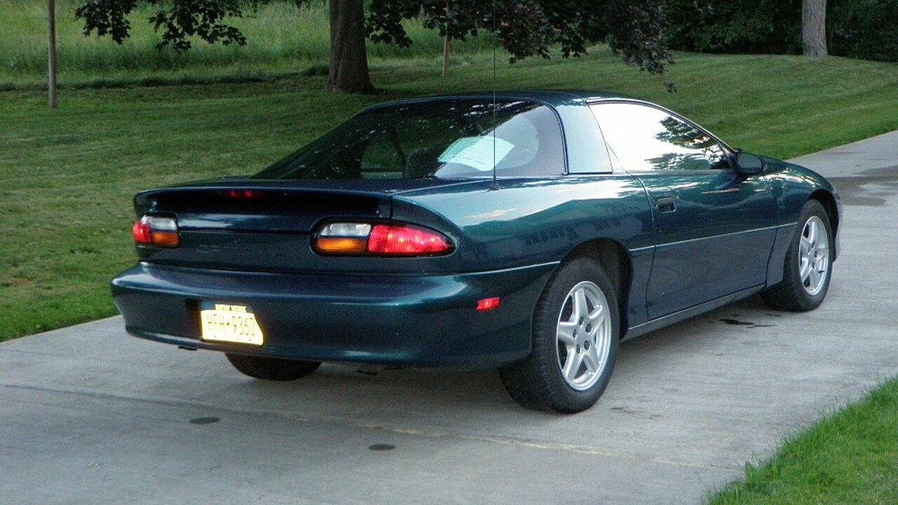 Camaro 1997 chevrolet camaro coupe : 1997 Chevrolet Camaro Coupe for sale near NICHOLS, New York 13812 ...