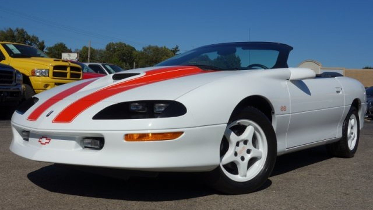 1997 Chevrolet Camaro Z28 Convertible for sale 100974649