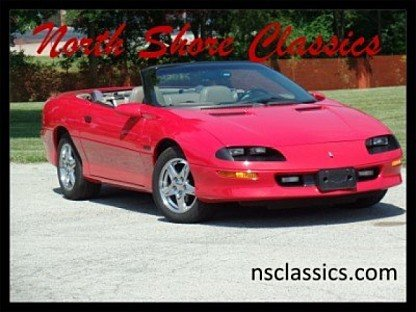 1997 Chevrolet Camaro Z28 Convertible for sale 100813006