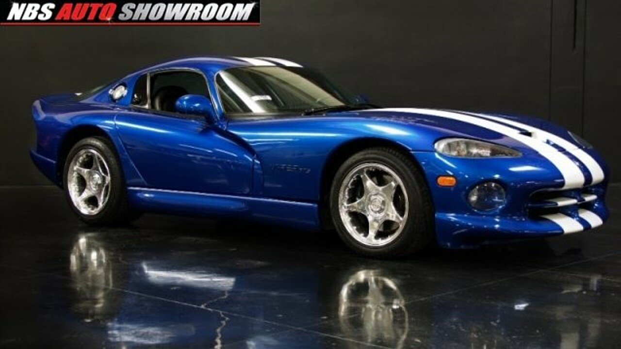 1997 Dodge Viper GTS Coupe for sale 100869879