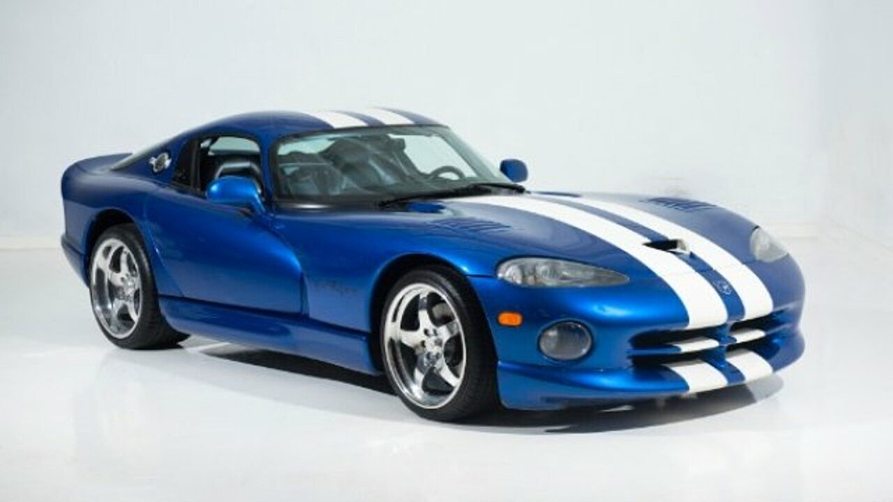 1997 Dodge Viper GTS Coupe for sale 101007461