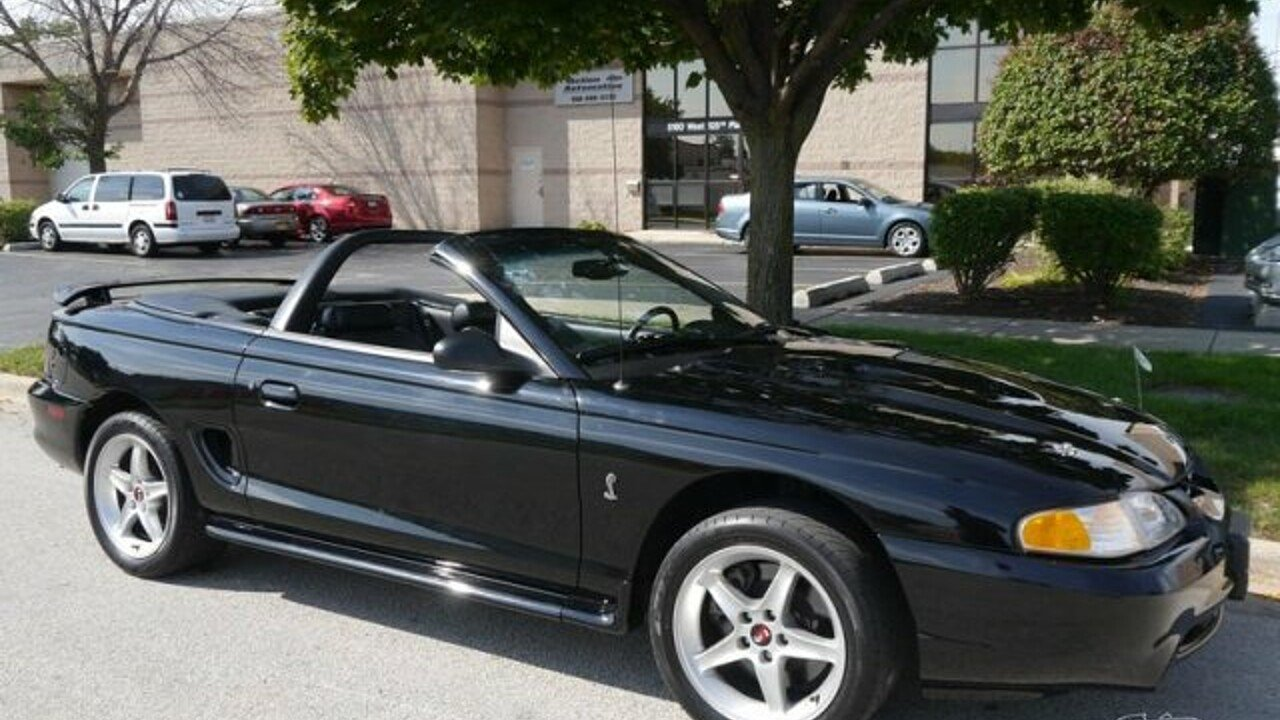 1997 Ford Mustang Cobra Convertible for sale 100868767