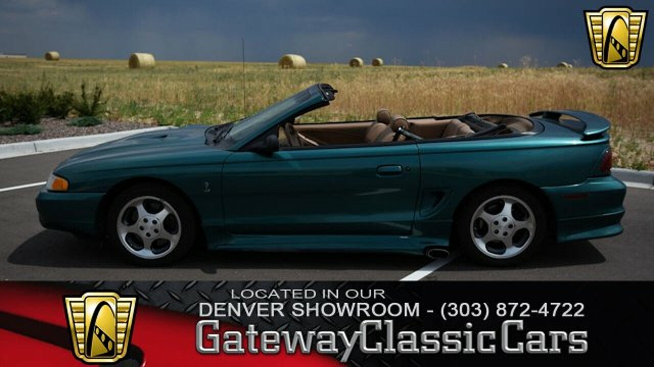 1997 Ford Mustang Cobra Convertible for sale 100920312