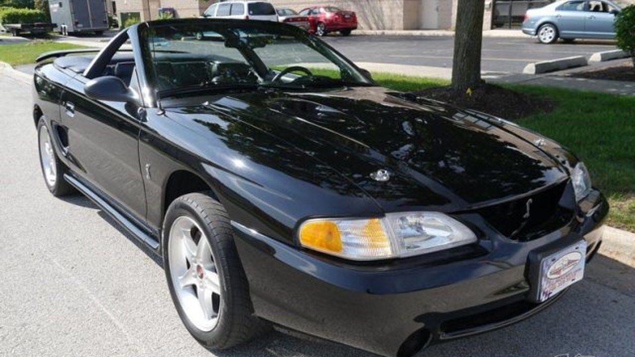 1997 Ford Mustang Cobra Convertible for sale 100956389