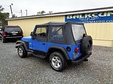1997 Jeep Wrangler 4WD Sport for sale 100952848