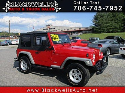 1997 Jeep Wrangler 4WD SE for sale 100985882