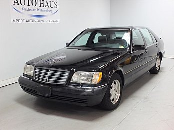 1997 Mercedes-Benz S500 Sedan for sale 101014808
