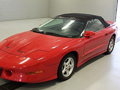 1997 Pontiac Firebird Convertible for sale 100777509