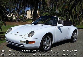 1997 Porsche 911 Cabriolet for sale 100020525