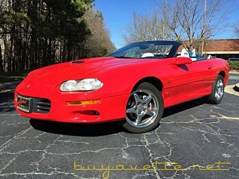 1998 Chevrolet Camaro Z28 Convertible for sale 100843209