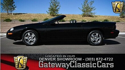 1998 Chevrolet Camaro Z28 Convertible for sale 100949561