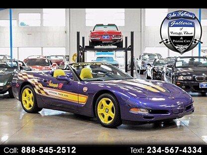1998 Chevrolet Corvette Convertible for sale 100798188