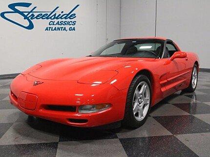 1998 Chevrolet Corvette Coupe for sale 100947977